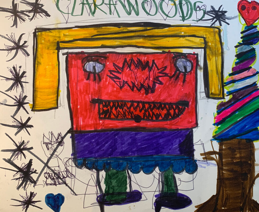 CW0383 Monster Mario Clara Woods